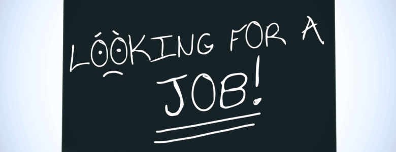 Man looking for a job